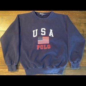 vintage USA polo Ralph Lauren sweatshirt